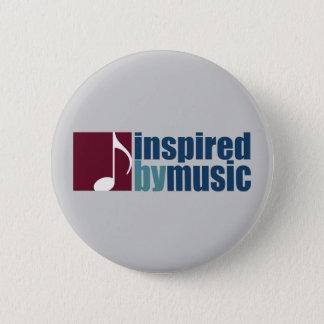 Musikinspiration Runder Button 5,7 Cm