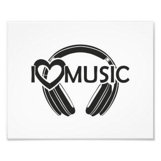 Musikkopfhörer der Liebe I Fotos