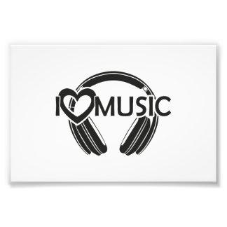 Musikkopfhörer der Liebe I Kunstphotos