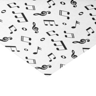 Musiknoten-Muster Seidenpapier
