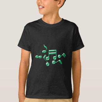 Musiknoten notes music T-Shirt