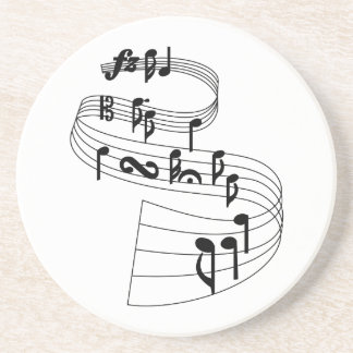 Musiknoten Untersetzer