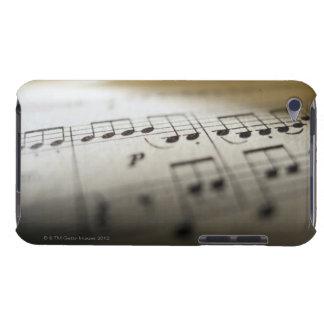 Musique de feuille 4 coques iPod touch