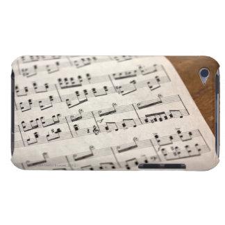 Musique de feuille 7 étui barely there iPod