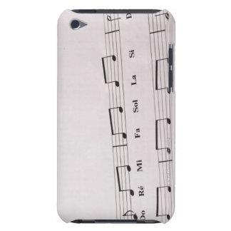 Musique de feuille détaillée 2 coque barely there iPod