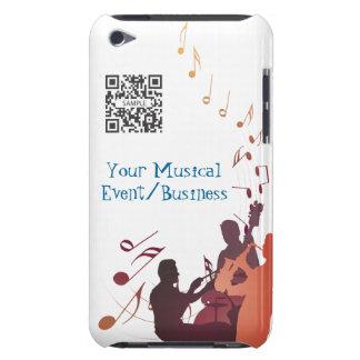 musique de jazz de modèle de cas de contact d'iPod Coques Barely There iPod