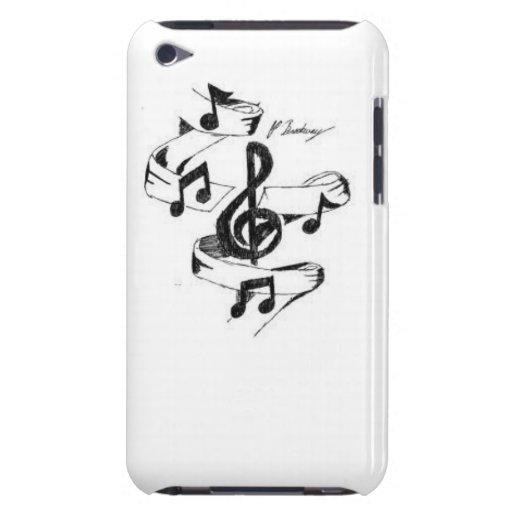 Musique dessinée coque Case-Mate iPod touch