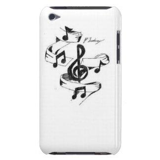 Musique dessinée coques iPod touch