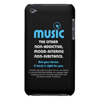 Musique : L'autre ne créant pas de dépendance, hum Coque Case-Mate iPod Touch