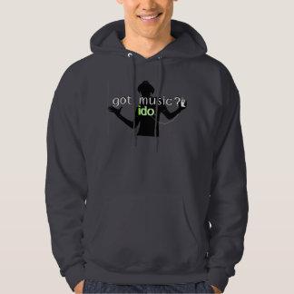 Musique obtenue ? sweatshirt à capuche