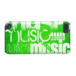 Musique ; Rayures vertes au néon
