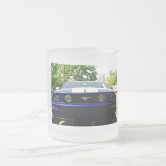 Muskel Auto Blau Tasse