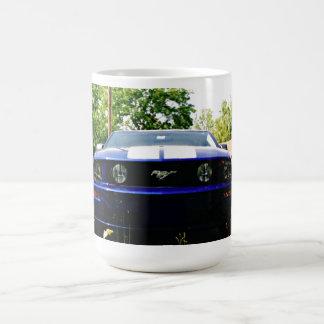 Muskel-Auto-blaue Tasse