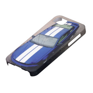 Muskel Auto blaues Case-Mate-Fall iPhone