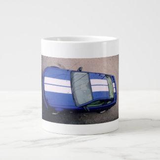 Muskelauto blaue riesige Tasse Jumbo-Tassen