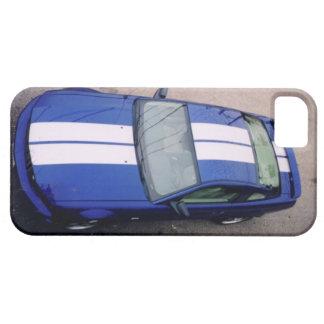 Muskelauto blauer iPhone 5 Kasten