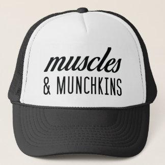 Muskeln und Munchkins Fernlastfahrer-Hut Truckerkappe