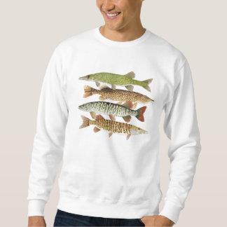 Muskie, Pike, Pickerel-Kleid Sweatshirt