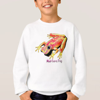 Muss-Liebe-Frösche Sweatshirt