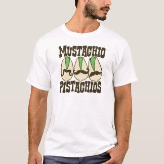 Mustachio-Pistazien T-Shirt