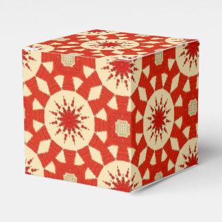 Muster #2 des roten Teppichs Geschenkschachtel
