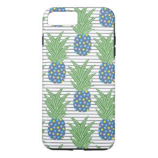 Muster-Ananas iPhone 8 Plus/7 Plus Hülle