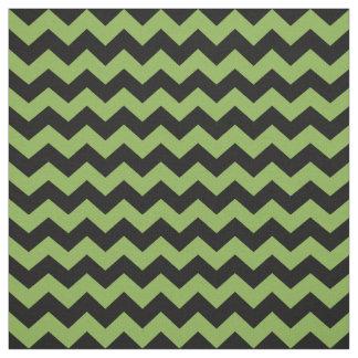 Muster der Grün-grünes schwarzes Stoff
