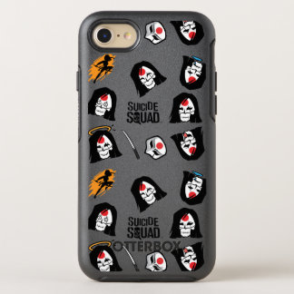 Muster der Selbstmord-Gruppen-  Katana Emoji OtterBox Symmetry iPhone 7 Hülle