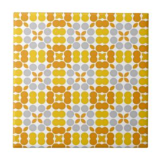 Muster LUISE Gelb Kleine Quadratische Fliese