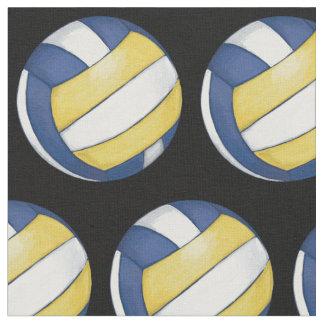 Muster mit gemaltem Volleyball Stoff