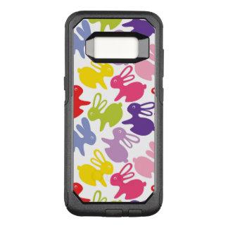 Muster mit Ostern-Kaninchen OtterBox Commuter Samsung Galaxy S8 Hülle