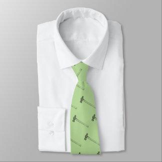 Muster von Ball Pein Hämmern Krawatte