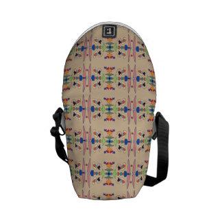 Muster von Farben Kurier Tasche