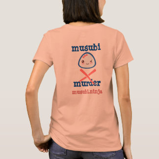 Musubi Mord Kawaii Entwurf T-Shirt