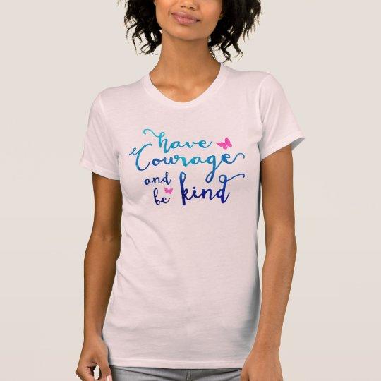 Mut u. Güte hellrosa T-Shirt