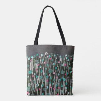 Mutige Blüte Tasche