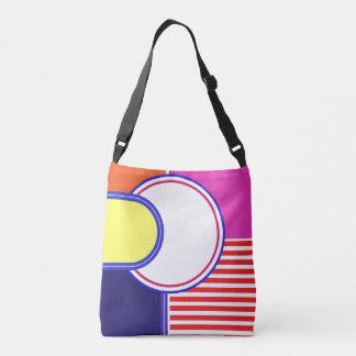 Mutige Farben, feines Grafikdesign Tragetaschen Mit Langen Trägern
