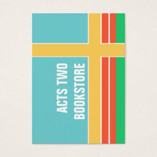Mutige modische Frühling Colorblock Grafik Visitenkarte
