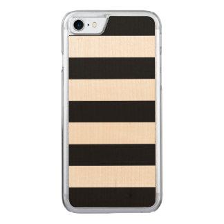 Mutige schwarze Streifen - iPhone 7 dünner Carved iPhone 8/7 Hülle