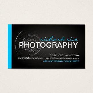 Mutige und moderne Fotograf-Visitenkarten Visitenkarten