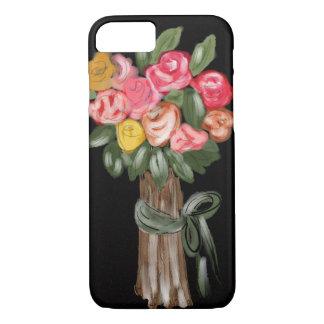 Mutiger Blumen-Blumenstrauß iPhone 8/7 Hülle