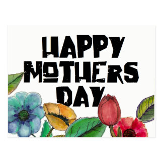 Mutiger glücklicher Mutter-Tag durch oziaz Postkarte