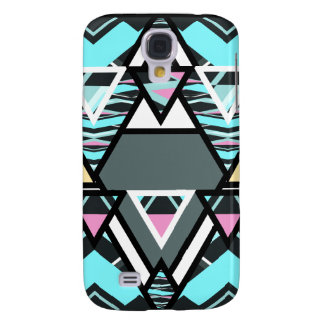 Mutiger Stammes- Pastell Galaxy S4 Hülle