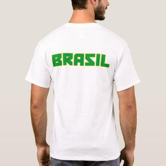 Mutiger Text Brasiliens (Brasilien) und T-Shirt