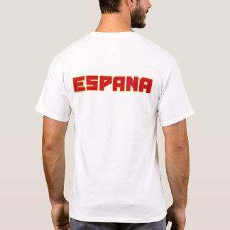 Mutiger Text Espana Spanien und T-Shirt