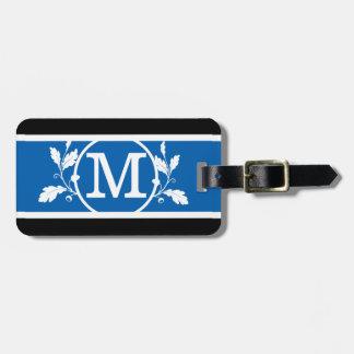 Mutiges BS1 mit Monogramm Gepäckanhänger