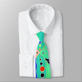 Mutiges künstlerisches buntes modernes abstraktes individuelle krawatten