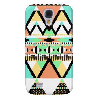 Mutiges Pastellstammes- Galaxy S4 Hülle