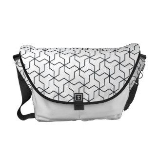 Mutsudemanji japanische Muster-Bote-Tasche Kuriertasche