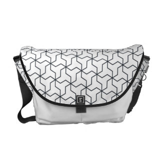 Mutsudemanji japanische Muster-Bote-Tasche Kuriertaschen
